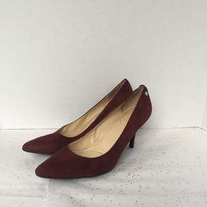 Calvin Klein Dark Red Ashley Pointed toe Pump  8.5